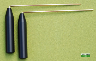 baguettes de détection courtes poignées standard