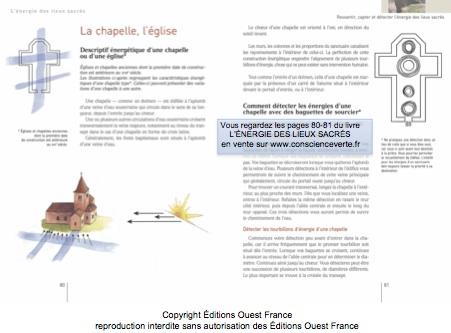 energie des lieux sacrés Thierry Gautier