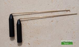 rods ou baguettes paralleles