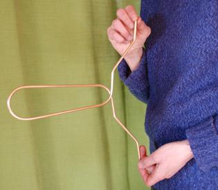 detection sensible du reseau hatmann avec un lobe antenne