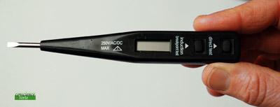 ce testeur vous permetrra de supprimer la pollution électrique de votre lampe de chevet